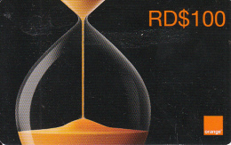 DOMINICANA  - Orange Prepaid Card RD$100, Exp.date 31/12/09, Used