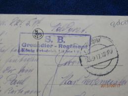 36/515   CP DE DOUAI  1917  CACHETS  ALLEMAND - Marcofilie (Brieven)