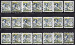 1320. Yugoslavia, 1988, Definitive - Postal Service, MNH X 21 - Collections, Lots & Séries