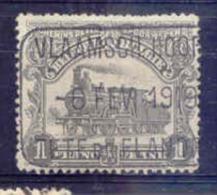 F403 -België  Spoorweg Chemin De Fer  Met Stempel  VLAAMSCH HOOFD / TETE DE FLANDRE - 1915-1921