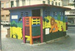 LYON 69004 CROIX ROUSSE VESPASIENNE DECOREE PISSOTIERE  MIGNOT  IMP MARTINEAU  FABLES  FONTAINE LION CORBEAU RENARD - Lyon