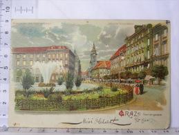 CPA Précurseur Autriche - GRAZ Herrengosse - Graz