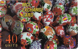 ITALY - Happy Easter, MCI Prepaid Card 40 Units, Used - Italie
