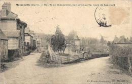 27 - MAINNEVILLE -  Entrée De Mainneville, Vue Prise Sur La Route De Sancourt - France