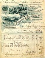 55.MEUSE.COUSANCES AUX FORGES.FORGES,FONDERIES & ATELIERS DE CONSTRUCTION.CHAMPENOIS-RAMBEAUX & Cie. - France