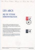"Document Officiel De 1990 N° 38-90 "" J.O. ALBERTVILLE 92 : SKI DE VITESSE / LES ARCS "" N° YT 2675. DPO"