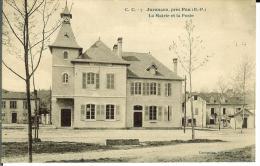 CPA  JURANCON, la mairie et la poste  8514