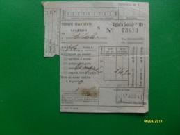 17 Agosto 1943 Ferrovie Dello Stato Salerno Napoli Biglietto Speciale  C 203 Due Italie - Spoorwegen