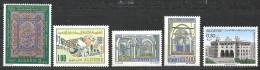 1970  Alg. N° 526 à 530  Nf** . - Algérie (1962-...)