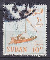 Sudan 1975 Mi. 189 A Y    10 Pia Segelboot Sailing Boat - Soedan (1954-...)