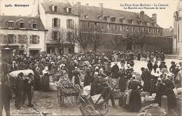 29 - Quimper - La Place Saint-Mathieu - La Caserne - Le Marché Aux Pommes De Terre - Coll. Villard N° 3403 (très Animée) - Quimper