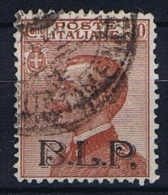 Italy: 1921 Mi B 133 III  Used B.L.P. Surcharge For Kartenbrief Marken (13,5 Mm ) - Used