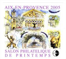 Bloc CNEP N° 43 : Salon De Printemps 2005 -  Aix En Provence . Voir Le Scan . Cote Maury : 13 € . - CNEP