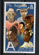 Anguilla 2002 - Sicurezza Sociale, Social Security MNH ** - Anguilla (1968-...)
