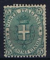 Italy: 1891  Mi 60 MN/*  Light Fold At Right Top