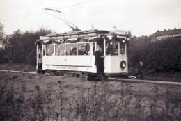 Railway Tram Negative Strassenbahn, Germany Oberhausen 13-10-1968  90 - Trains