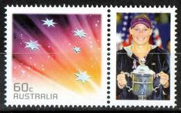 Australia 2011 Tennis - Sam Stosur US Open Champion 2011 With 60c Red Southern Cross MNH - 2010-... Elizabeth II