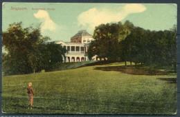 Singapore -  Government House Postcard - Singapore
