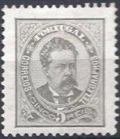 5 Reis Gris Neuf Dentelé 11.5 - 1862-1884 : D.Luiz I