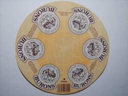 TGE42005 - étiquette De Fromage - FROMAGE DES BURONS - GILCA - Loire 42AB - Fromage
