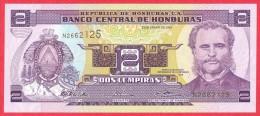 Honduras - 2 Lempiras 2003 UNC / Papier Monnaie - Honduras - Honduras