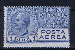 Italy: 1926 Mi 231 MNH/**  Airmail - 1900-44 Victor Emmanuel III