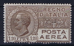 Italy: 1927 Mi 254 MNH/**   Airmail - 1900-44 Victor Emmanuel III