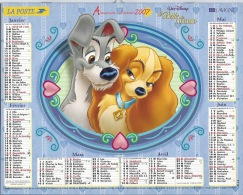 Almanach Du Facteur 2007 Disney - Calendars