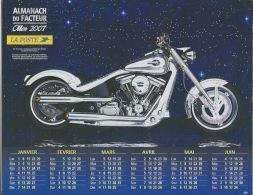 Almanach Du Facteur 2007 MOTO - Calendars