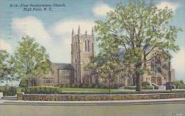North Carolina High Point First Presbyterian Church 1946