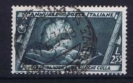 Italy: 1932, Mi 428, Sa 338  Used - 1900-44 Vittorio Emanuele III