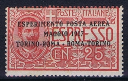 Italy: 1917, Mi 126 MNH/**, Sa Posta Aerea 1  CV 75 Euro - 1900-44 Victor Emmanuel III.