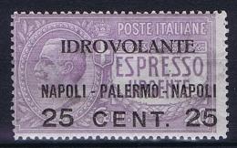 Italy: 1917, Mi 127MNH/**, Sa Posta Aerea 2 CV 75 Euro - 1900-44 Victor Emmanuel III.