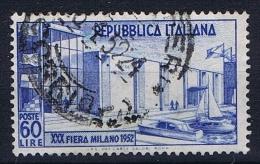 Italy: 1952,  Mi 859  Used