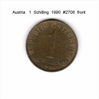 AUSTRIA   1  SCHILLING  1990  (KM # 2886) - Austria