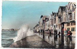 CP, 35, SAINT MALO, Marée Haute Sur Le Sillon, écrite, Voyagé En 1956 - Saint Malo
