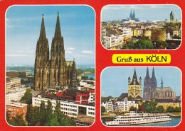 Greetings Gruss Aus Koeln Germany