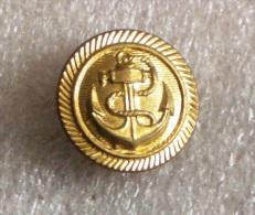 YUGOSLAVIA NAVY ( JRM ) Button * Bouton Marine Kriegsmarine Marina De Guerra * JNA ARMY - Buttons