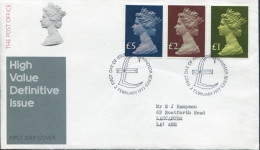 1977 High Value Definitives Windsor First Day Cover - FDC