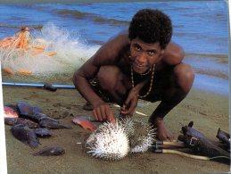 (153) Vanuatu - Local Fisherman - Vanuatu