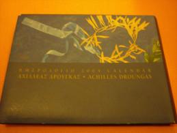 Aget Iraklis Lafarge Athens 2004 Olympic Games Calendar By Achilles Droungas - Calendarios