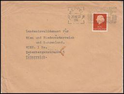 Netherlands 1961, Cover Meppel To Wien - Period 1949-1980 (Juliana)
