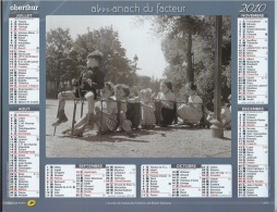 Almanach Du Facteur 2010  Robert Doisneau - Calendars