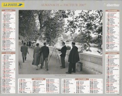 Almanach Du Facteur 2007  Edouard Boubat - Calendars