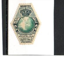 REINATEX - 1952 - Erinnofilia