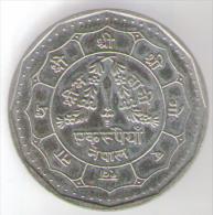 NEPAL 1 RUPEE VS2045 (1988) - Nepal