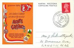 1969. 25th. ANNIVERSARY OF  POLISH SOLDIERS   REUNION DAY AT MONTE CASSINO. - 1939-44: 2de Wereldoorlog