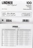 100-Box Brief-Hüllen Neu 13€ Schutz/Einsortieren Briefe # 884 Lindner Maß 170x120mm For Letter Too Postcard Of The World - Alben & Binder