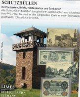 Hüllen Für Große Briefe/Karten A5 100Box Neu 16€ Schutz/Einsortieren #888 Maß 213x152mm Big Letter+postcard Of The World - Alben & Binder