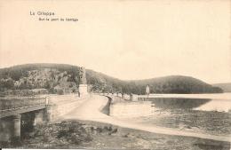 La Gileppe.Sur Le Pont Du Barrage. - Baelen